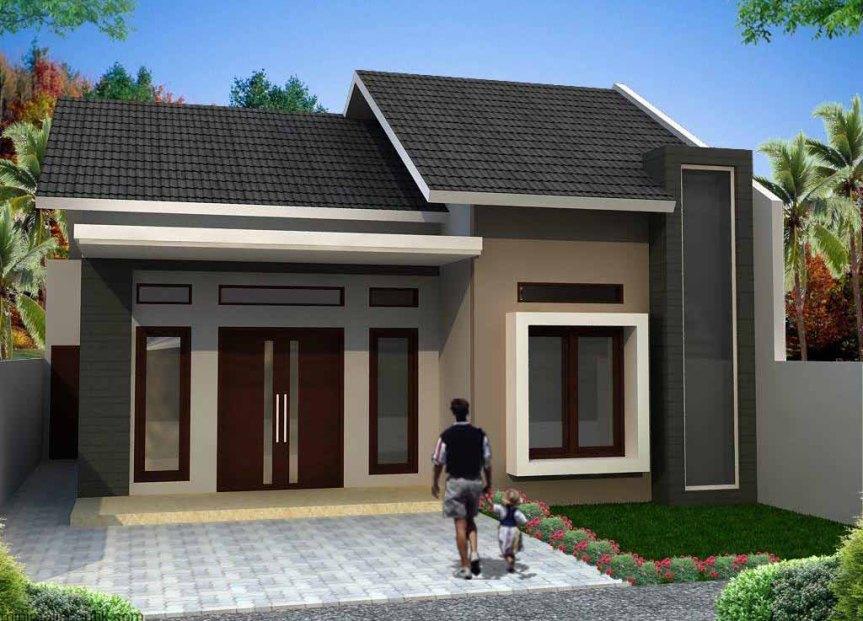 Desain Rumah Minimalis 1 Lantai Pilihan Sebuah Keluarga Baru